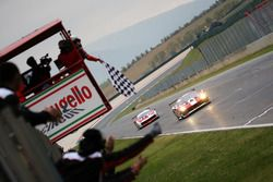 Race winner #11 Formula Racing Ferrari 488: Nicklas Nielsen