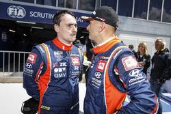 Norbert Michelisz, BRC Racing Team Hyundai i30 N TCR, Gabriele Tarquini, BRC Racing Team Hyundai i30 N TCR