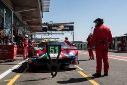 #51 AF Corse Ferrari 488 GTE EVO: Alessandro Pier Guidi, James Calado, Qualifying
