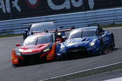 #8 Autobacs Racing Team Aguri Honda NSX Concept GT: Tomoki Nojiri, Takuya Izawa, #12 Team Impul Nissan GT-R Nismo GT3: Jann Mardenborough, Daiki Sasaki