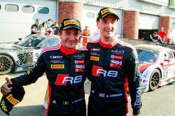I vincitori #17 Team WRT Audi R8 LMS: Stuart Leonard, Frederic Vervisch