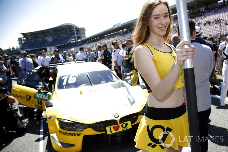 Grid girl of Timo Glock, BMW Team RMG