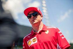 Kimi Raikkonen, Ferrari in de rijdersparade