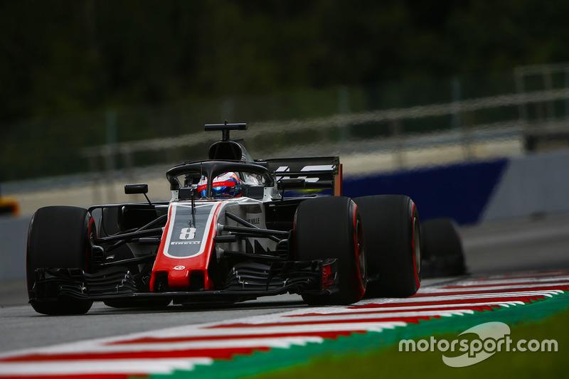 7. Romain Grosjean, Haas F1 Team VF-18