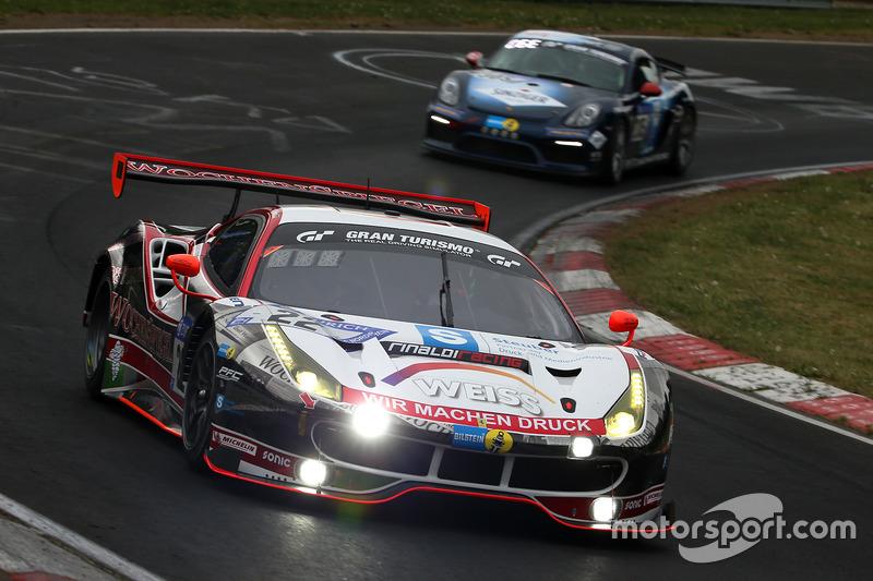 11. #22 Wochenspiegel Team Monschau Ferrari 488 GT3: Georg Weiss, Oliver Kainz, Jochen Krumbach, Christian Menzel