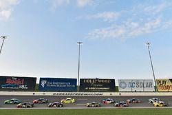 Kyle Larson, Chip Ganassi Racing, Chevrolet Camaro Clover and Martin Truex Jr., Furniture Row Racing, Toyota Camry 5-hour ENERGY/Bass Pro Shops