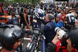 LMP3 winners #11 Eurointernational Ligier JS P3 - Nissan: Giorgio Mondini, Kay Van Berlo