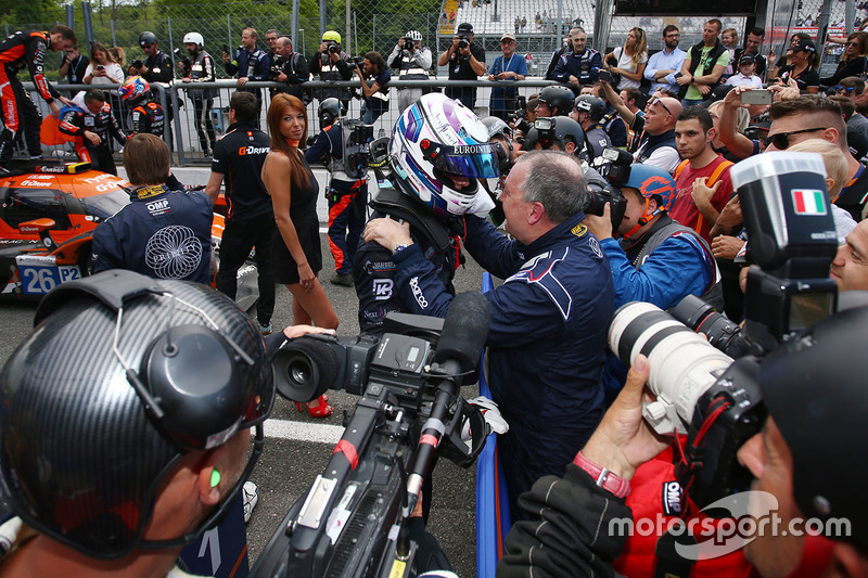 Vincitori LMP3 #11 Eurointernational Ligier JS P3 - Nissan: Giorgio Mondini, Kay Van Berlo
