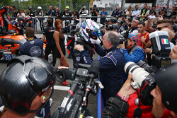 Vainqueurs LMP3 : #11 Eurointernational Ligier JS P3 - Nissan: Giorgio Mondini, Kay Van Berlo