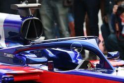 Scuderia Toro Rosso STR13 Halo Fin detail