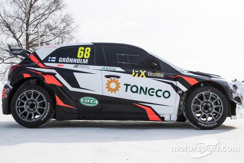 Автомобиль Никласа Гронхольма, GRX Taneco Team
