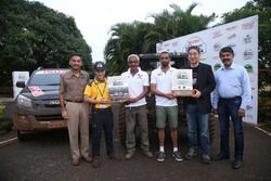 RFC India winners Jagat Nanjappa and co-driver Chetan Changappa