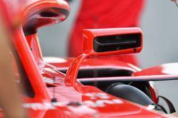 Un rétroviseur de la Ferrari SF71H
