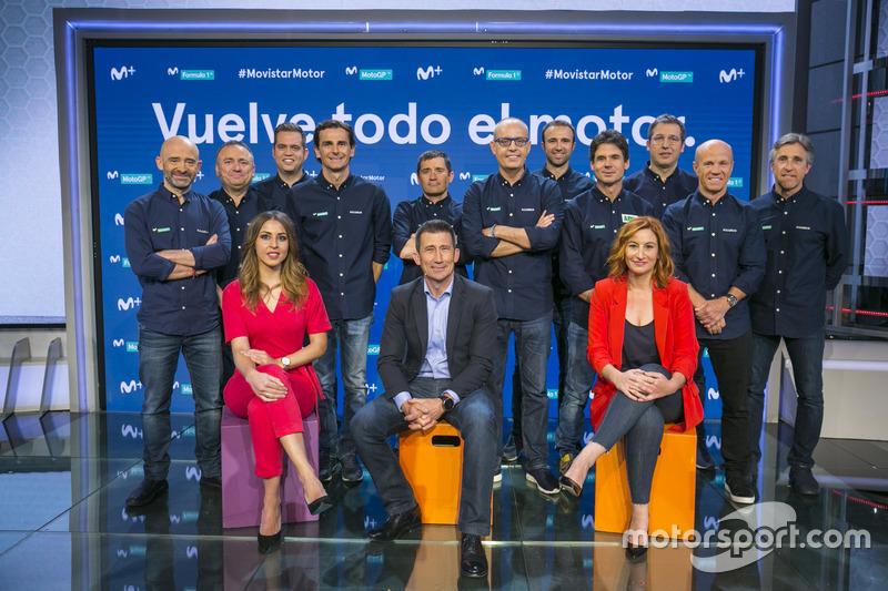 Presentación del equipo de Movistar Motor