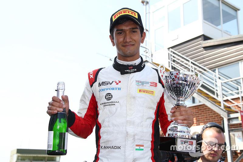 Krishnaraaj Mahadik (British F3, Brands Hatch)