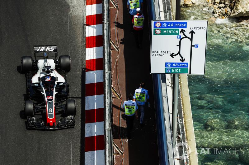 18. Romain Grosjean, Haas F1 Team VF-18 (Strafe: 3 Plätze)