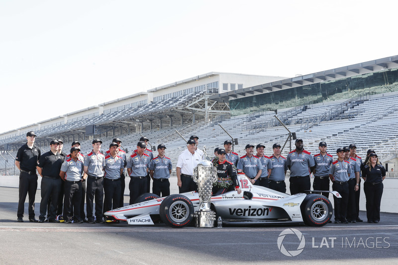 El ganador: Will Power, Team Penske Chevrolet
