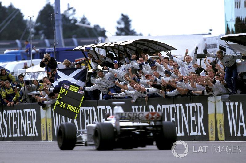 1999 Johnny Herbert, Stewart (Nurburgring)
