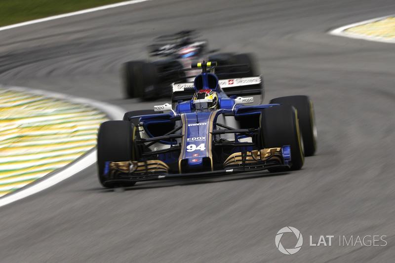 14: Pascal Wehrlein, Sauber C36