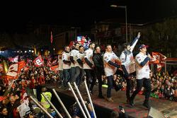 WM-Feier von Marc Márquez in Cervera