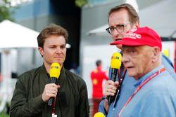 RTL analisten Nico Rosberg en Niki Lauda
