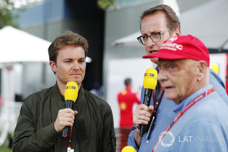 RTL sunucusu, Nico Rosberg, Niki Lauda