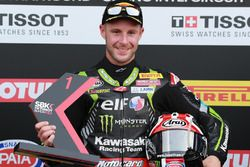 Pole position for Jonathan Rea, Kawasaki Racing