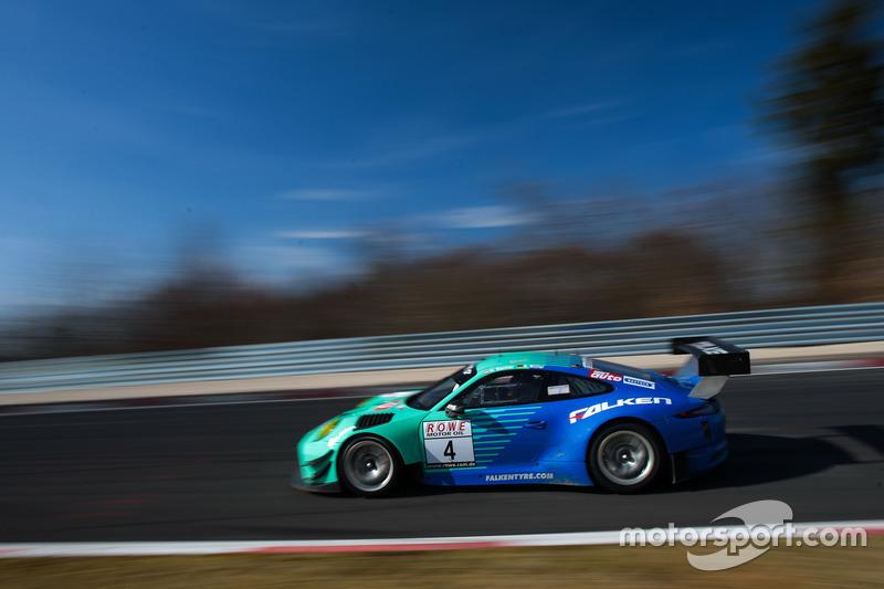 #4 Falken Motorsports Porsche GT3-R: Klaus Bachler, Sven Müller