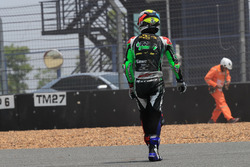 Azlan Shah Karmaruzaman, Kawasaki Puccetti Racing after crash