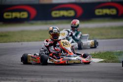 Pedro Hiltbrand, CRG; David Vidales, Tony Kart