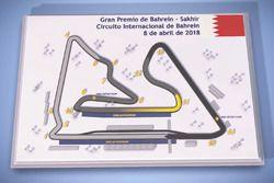 El circuito de Sakhir, sede del GP de Bahrein de F1