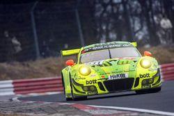 #911 Manthey Racing Porsche 911 GT3-R: Kévin Estre, Earl Bamber, Laurens Vanthoor