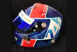 Jan Lammers special helmet