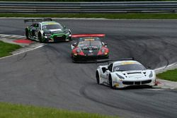 #31 TR3 Racing Ferrari 488 GT3: Wei Lu, Jeff Segal, /.gt96/, #19 TruSpeed AutoSport Audi R8 LMS: Parker Chase, Ryan Dalziel