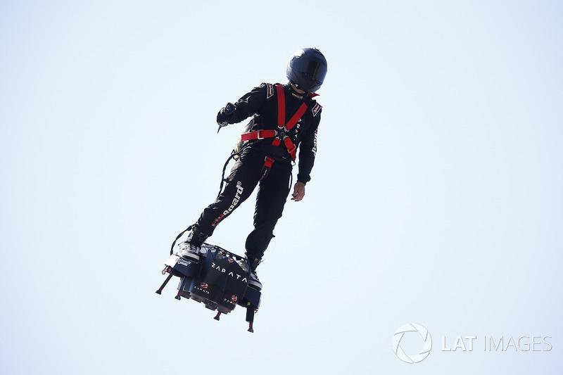 Hover jet board