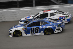 Alex Bowman, Hendrick Motorsports, Chevrolet Camaro Nationwide and D.J. Kennington, Premium Motorspo