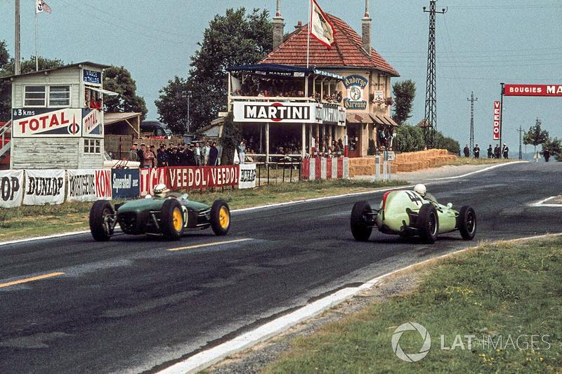 Именно в Реймсе прошел первый Гран При Франции в рамках чемпионата мира в 1950 году. Строго говоря, до 1967 года этап носил официальное название Гран При Автоклуба Франции (Гран При АКФ), но сути дела это, конечно, не меняло