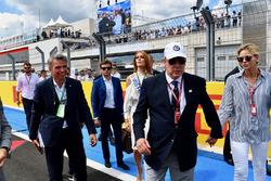 HSH Prince Albert of Monaco, Princess Charlene of Monaco, Charlene Wittstock, on the grid