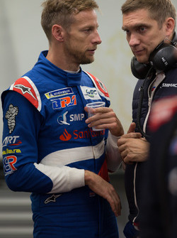 #11 SMP Racing BR Engineering BR1: Vitaly Petrov, Jenson Button