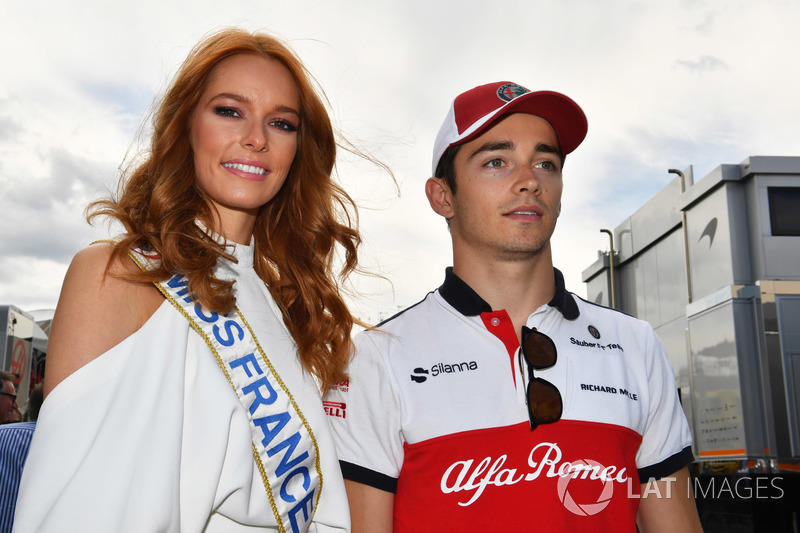 Charles Leclerc, Sauber and Miss France