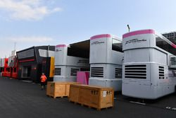 Force India F1 freight