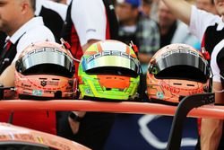 Cascos de Porsche GT Team