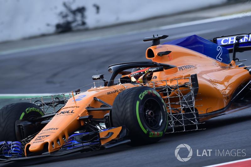 Stoffel Vandoorne, McLaren MCL33, sensori aerodinamici