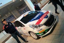 La Peugeot 208 R2 di Damiano De Tommaso