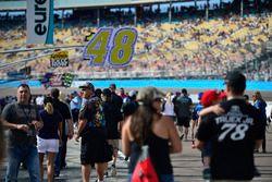 NASCAR-Fans in der Boxengasse in Phoenix