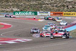Matias Rossi, Nova Racing Ford, Mariano Werner, Werner Competicion Ford, Christian Ledesma, Las Toscas Racing Chevrolet, Carlos Okulovich, Maquin Parts Racing Torino