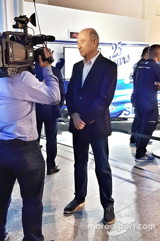 Peter Sauber al salone Auto Zürich il primo novembre