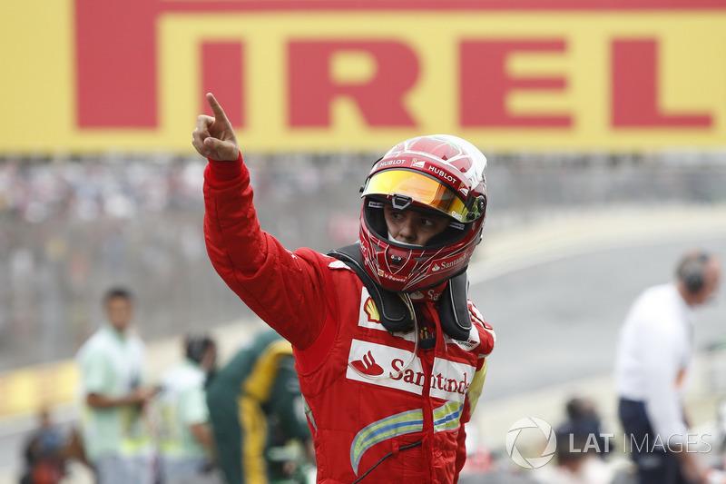 Felipe Massa: 17 üçüncülük