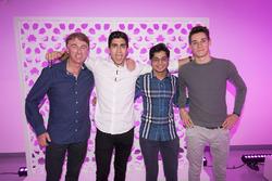 Juan Manuel Correa, Arjun Maini, Alessio Lorandi