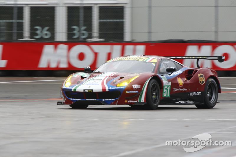 AF Corse, Ferrari 488 GTE: Davide Rigon, Alessandro Pierguidi, Migule Molina, Giancarlo Fisichella